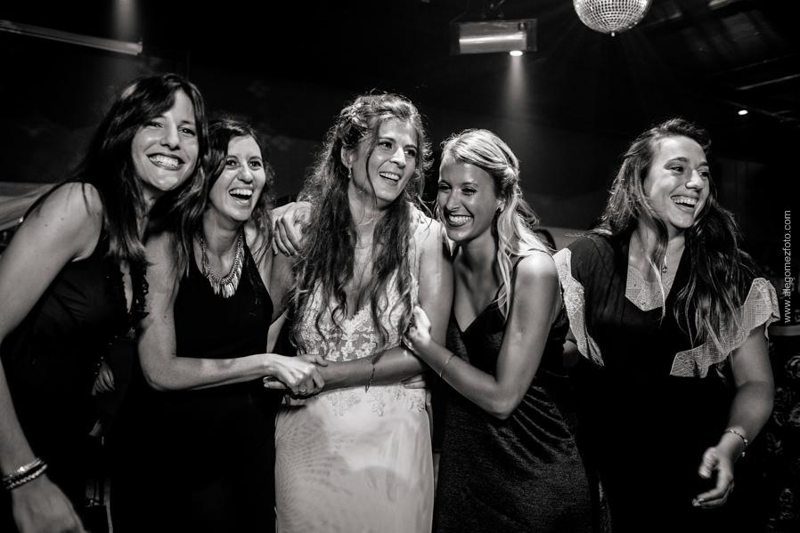 La Novia y sus amigas - Alejandro Gomez Fotografo de Casamientos