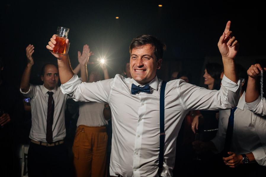 El novio bailando - Alejandro Gomez Fotografo de Casamientos